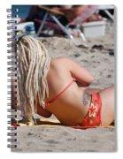 Blondie Braids Spiral Notebook