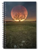 Blood Moon  Spiral Notebook
