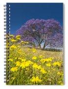 Blossoming Jacaranda Spiral Notebook