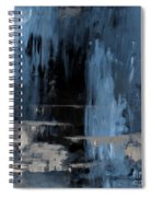 Blue Abstract 12m2 Spiral Notebook