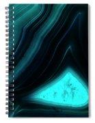 Blue Agate Spiral Notebook