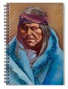 Blue Blanket Spiral Notebook
