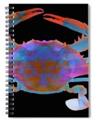 Blue Crab, X-ray Spiral Notebook