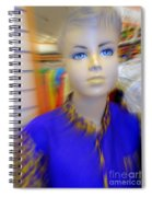 Blue Eyed Boy Spiral Notebook