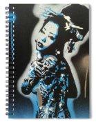 Blue Geisha Spiral Notebook