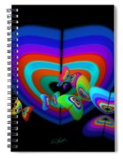 Blue Mood Spiral Notebook