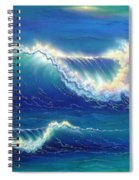 Blue Thunder Spiral Notebook