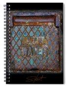Blue Water Spiral Notebook