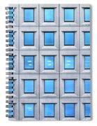 Blue Windows Spiral Notebook