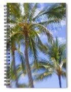 Blurry Palms Spiral Notebook