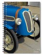Vintage Bmw Racer Spiral Notebook