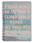Bob Dylan Art Print Spiral Notebook