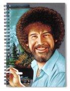 Bob Ross Spiral Notebook
