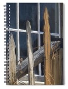 Bodie Picket Fence And Window Spiral Notebook