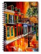Bold Vieux Carre Spiral Notebook
