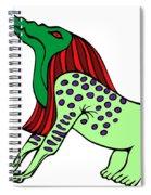 Bone Eater Spiral Notebook