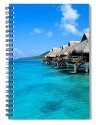 Bora Bora Lagoon Resort Spiral Notebook
