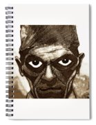 Boris Karloff  Spiral Notebook