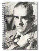 Boris Karloff, Vintage Actor Spiral Notebook