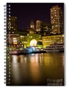 Boston Massachusetts Spiral Notebook