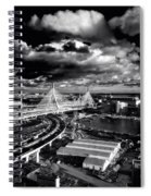 Boston's Big Dig Spiral Notebook