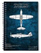 Boulton Paul Defiant Spiral Notebook
