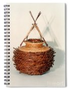 Bound And Unified In Contrast Spiral Notebook