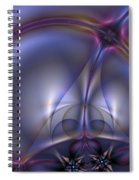 Bound By Light Spiral Notebook