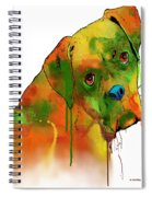 Boxer Spiral Notebook