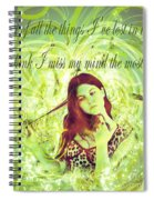 Brainless Teen Bimbo Spiral Notebook