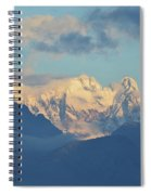 Breathtaking Scenic View Of The Alps In Italy  Spiral Notebook
