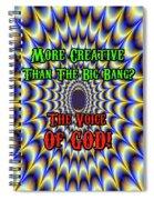 Brian Exton - Fractal Spiral Notebook