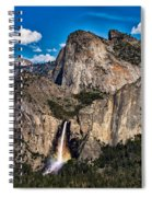 Bridalveil Falls Rainbow #2 Spiral Notebook