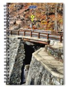 Bridge By Kaaterskill Falls 1 Spiral Notebook