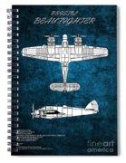 Bristol Beaufighter Spiral Notebook