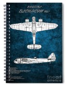 Bristol Blenheim Spiral Notebook