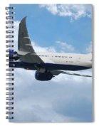 British Airways Boeing 787 Dreamliner Spiral Notebook