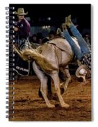 Bronco Riding Spiral Notebook