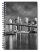 Brooklyn Bridge From Dumbo Spiral Notebook