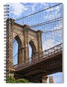 Brooklyn Bridge Ny Spiral Notebook