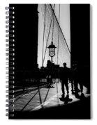 Brooklyn Shadows Spiral Notebook
