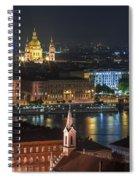 Budapest, Danube River, Hungary Spiral Notebook