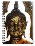 Buddha Sculpture Spiral Notebook