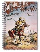 Buffalo Bill: Poster, 1893 Spiral Notebook