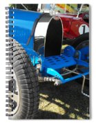 Bugatti Racer Spiral Notebook