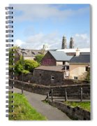 Buildings In A Town, Mullingar, County Spiral Notebook