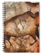 Bull A La Altamira Spiral Notebook