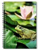 Bullfrog Spiral Notebook