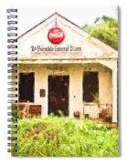 Burnside General Store - Digital Painting Spiral Notebook
