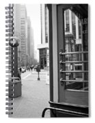 Cable Car Downtown San Francisco Spiral Notebook
